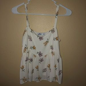 Peplum tank from Hollister